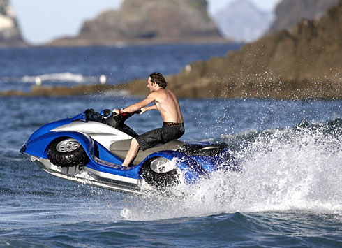 le quadski la fusion du vtt et du jet ski wow un vtt qui va sur l 39 eau bateau location de. Black Bedroom Furniture Sets. Home Design Ideas