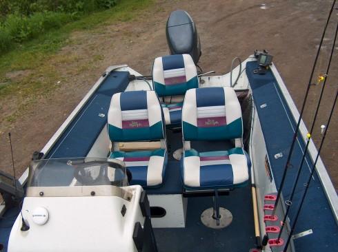 bateau de peche 18 pieds a vendre