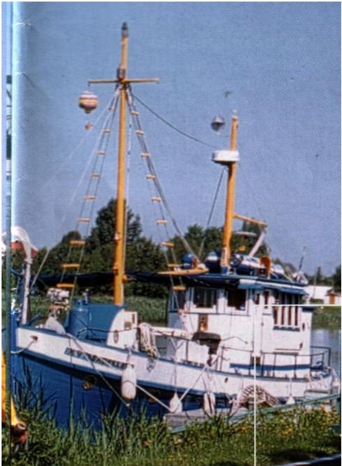 Vue du bateau en entier