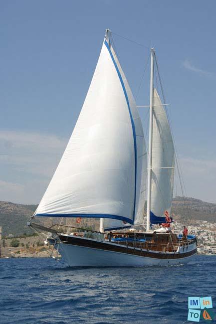 Prestige Boat Bodrum beau Ketch de plus de 25 m