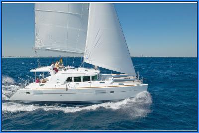 Catamaran Neuf 2009 Lagoon 440 44' 8'' avec les voiles dans le vent