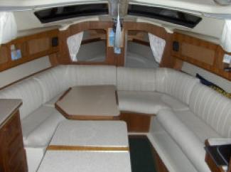 voilier occasion hunter vision quillard 32 pieds 9 8. Black Bedroom Furniture Sets. Home Design Ideas