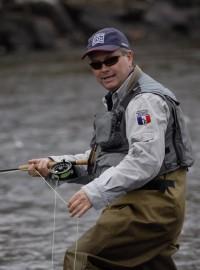 Moniteur guide de pêche en Bourgogne