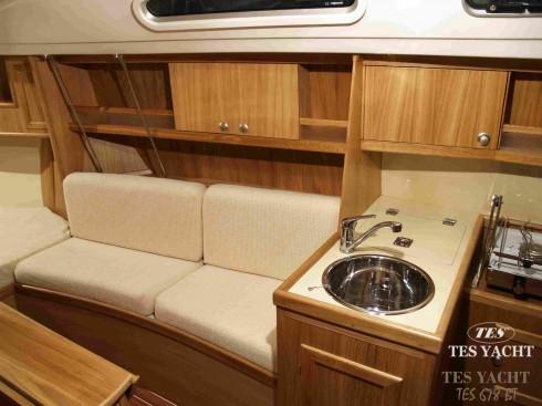 voilier occasion tes tes 720 d riveur int gral 23 pieds 7 po 7 2 m tres 2008 int rieur. Black Bedroom Furniture Sets. Home Design Ideas