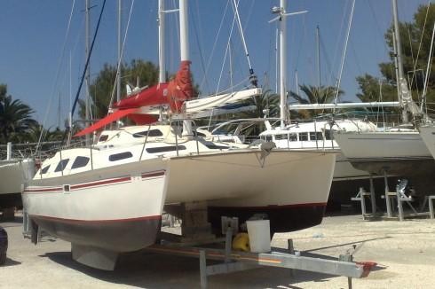 Catamaran 25 metres