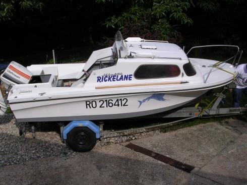 Remorque bateau 9m