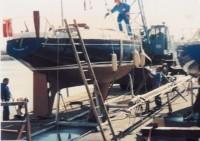 1 bateau graveline 90bob port quai