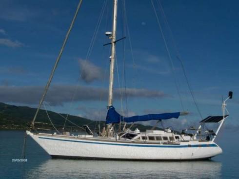 voilier occasion jose garcia damien 40 d riveur 44 pieds 7 po 13 6 m tres 1981 bateau. Black Bedroom Furniture Sets. Home Design Ideas