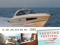 Leader 36 au salon nautique de CANNES par RIVIERA PLAISANCE