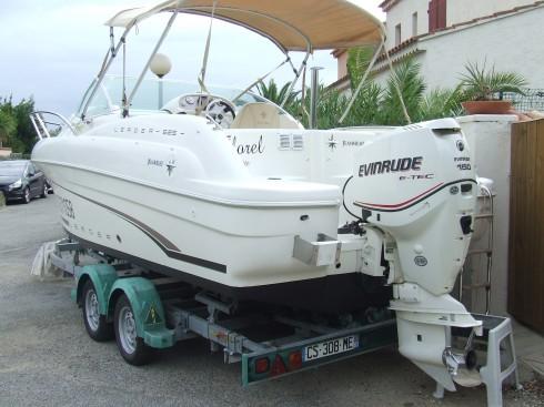 bateau moteur occasion jeanneau leader 625 luxe 20 pieds 8 po 6 3 m tres 2008 bateau. Black Bedroom Furniture Sets. Home Design Ideas