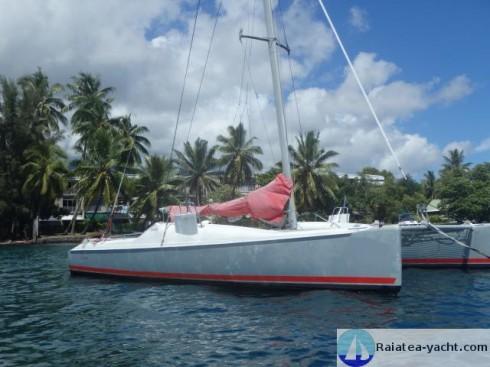 Catamaran 50 pieds occasion