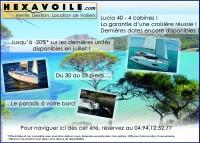 Location voiliers et catamaran à Hyères par HEXAVOILE
