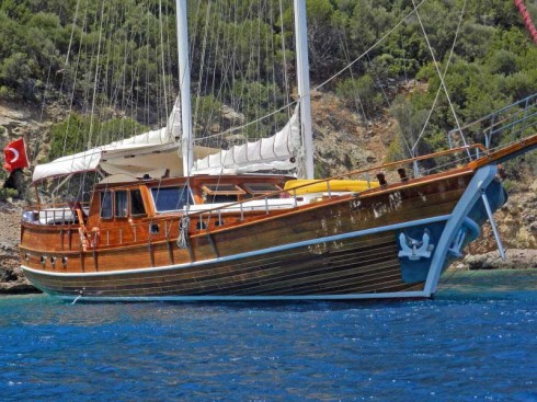 ketch de 28  m 6 cabines 12 pax prestige boat international